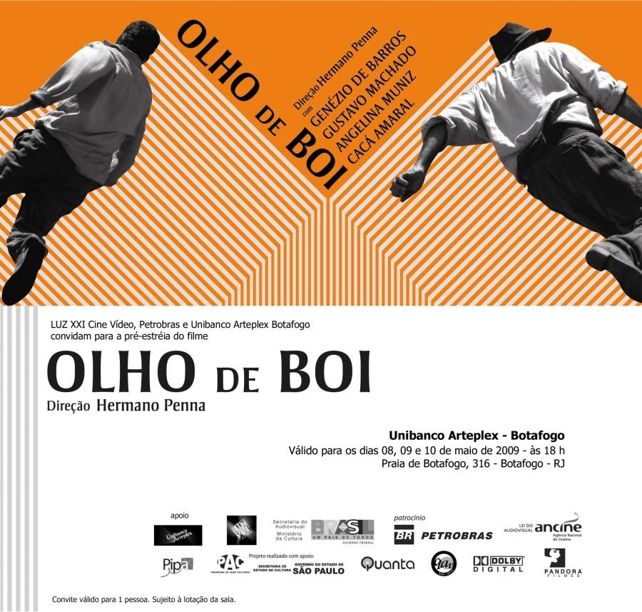 Convite OLHO de BOI - RJ